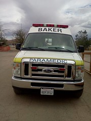 Baker EMS medic-53 (mercysoup) Tags: california rescue ambulance medical transportation emergency paramedic emt sanbernardino emergencymedicaltechnician molycorp