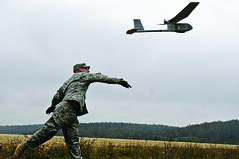 RQ-11B Raven Small Unmanned Aircraft System (SUAS) (U.S. Army Acquisition Support Center) Tags: suas programexecutiveofficeaviation rq11braven smallunmannedaircraftsystem