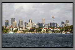 Sydney City from Harbour west-1=