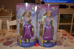 Dolls Rapunzel and Pascal (Aurelmistinguette) Tags: dolls mother disney collection pascal rider et rapunzel maximus flynn mre poupes eugne fitzherbert gothel raiponce aurelmistinguette