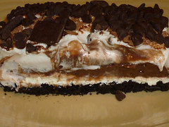 Chocolate Lasagna..... (steamboatwillie33) Tags: kitchen dessert chocolate treats delicious recipes creamcheese lasagna chocolatechips gooey oreocookies pieish macromavens