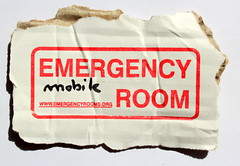 EMERGENCY ROOM MOBILE : Venice Biennale (Thierry Geoffroy / Colonel) Tags: venice logo carton biennale bonnephoto emergencyroommobile