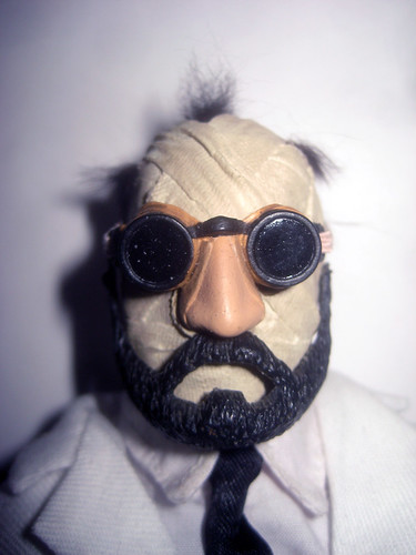 The Invisible Man in Disguise Beard and Moustache 9822