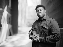 (DowntownRickyBrown) Tags: portrait blackandwhite film selfdeveloped contax645 fujineopanacros carlzeissplanar80mmf2