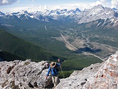 G8 Summit Scramble 12 (benlarhome) Tags: mountain canada montagne trekking trek kananaskis rockies spring hiking hike alberta rockymountain rockymountains scramble g8 gebirge scrambling