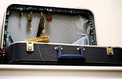 Suitcase (celinebellehumeur) Tags: vintage luggage jewels suitcase briefcase valise