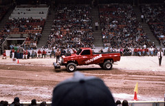 IMG_0049 (Nighthauler Photography) Tags: tractor cars truck pull meadowlands arena crushing bigfoot sled weight