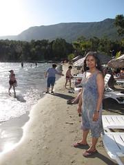 IMG_0641 (davidmagier) Tags: beach turkey hair tur aruna akyaka