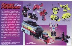 Kenner 1995 023 (Shogi's Toy Catalog Scans) Tags: transformers g2 kenner 1995 gen2 generation2 autorollers lasercycles laseroptimusprime