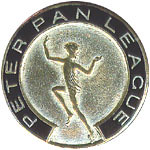 Peter Pan League badge 1930 (Great Ormond Street Hospital Children's Charity) Tags: pin peterpan gosh league ehshepard