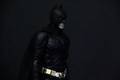 Medicom MAFEX Batman (The Dark Knight Rises) (Terrorhunt) Tags: actionfigure batman cape dccomics medicom mafex thedarkknightrises