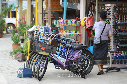 Bicycle for rent in Vang Vieng