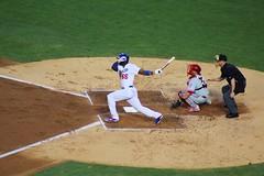 Yasiel Puig. Rookie making history. (Crystal_rivera) Tags: la losangeles baseball 66 dodgers mlb puig nationalleague yasielpuig