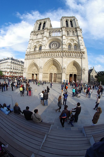 Notre-Dame de Paris - fisheye