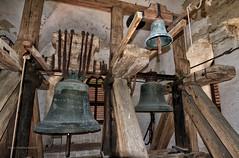Bells on church tower in Dacice (P.Tob-Ys) Tags: summer  canon 1022mm pavel 2015 objektiv f3545 canon1022mmf3545 daice tobolka vechovice paveltobolka