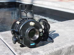 Siluro Nemrod (bac1967) Tags: barcelona camera 120 film water vintage spain underwater under nemrod metzeler siluro