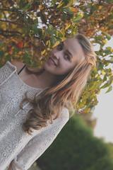Sun in your Hair (amy catherine) Tags: summer woman sun senior girl fashion comfortable hair cozy sweater