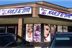 Building Signs | Signarama Meadowvale, ON | Gloss Nails & Spa