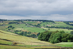 Pennine hills farmland (Halliwell_Michael ## Thank you for your visits #) Tags: trees farmland hills valley halifax pennine huddersfield outlane calderdale kirklees 2013 penninehills nikond40x