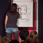 Emma Vieceli does some live drawing at Jura Unbound