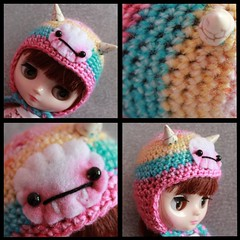 Brighter Pastels Baby Fangster Hat