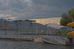 Vernon, BC (HDR) (Full Aperture Productions Inc.) Tags: lake canada boat dock bc okanagan cottage columbia british vernon hdr freshwater