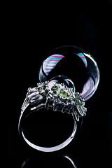 Soapbubble (Perfect Jewelry) (Dina Belenko) Tags: soap natural jewelry ring foam bubble
