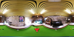 The Games Room (alex) Tags: red panorama white black table keyboard colours chairs piano balls games darts snooker 360x180 spiv 360degrees equirectangular snookercue stitcherexpress