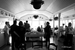 luncheon with friends (harrypwt) Tags: street city people bw restaurant hanko 18200 2010 40d harrypwt