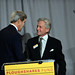 Secretary Kerry Shakes Hands With Michael Douglas