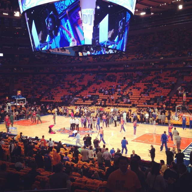#NYMade #Knicks #openingnight #nba