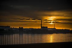 Power plant DDorf Germany (Jan Oberheim) Tags: sun plant set landscape power sony cluds nex