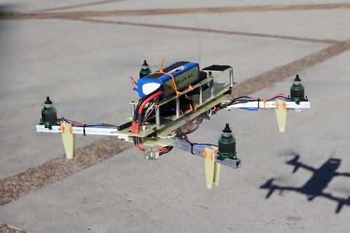 Quadcopter in Warren Mall