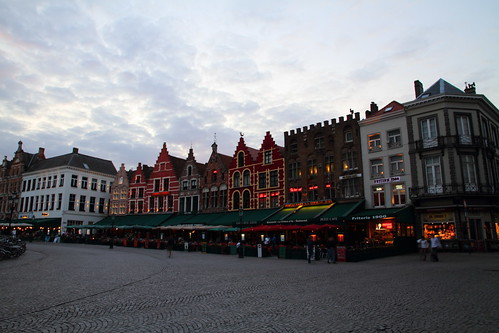 Markt Before Twilight