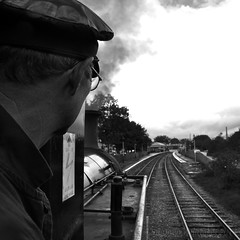 All Our Yesterdays (Whitto27) Tags: white black train mono nikon steam elr d5100 vision:sky=0716 vision:outdoor=0875