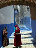 Spreading rumours (pietkagab (on the road)) Tags: street travel summer people sunshine photography alley women arch kodak muslim morocco medina chefchaouen narrow bluecity mygearandme mygearandmepremium mygearandmebronze mygearandmesilver mygearandmegold mygearandmeplatinum