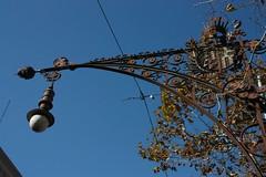 Iron wrought street lamps of Barcelona #2 (Sokleine) Tags: barcelona spain iron streetlamp catalonia espana ironwork espagne barcelone catalogne ironwrought ferforgé ferronnerie réverbere