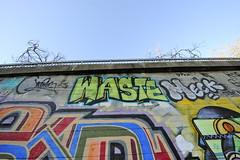 WASTE, MECK (STILSAYN) Tags: california graffiti oakland bay east area waste 2014 meck