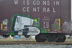 (tinsel town tommy) Tags: yard train graffiti nikon texas bomb freight sugarland benching homeshop d3000