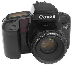 slr canon eos canoneos100 oldcameras eos100 altefotoapparate