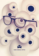 Herr Menig Optik - Eyes (Philipp Zurmoehle) Tags: eye illustration glasses eyes ad advertisement vector optician optik optiker philippzurmöhle philippzurmohle philippzurmoehle herrmenig wwwphilippzmcom