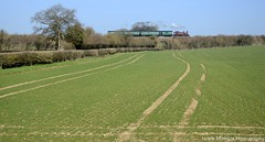 Met 1 (Lewis Maddox) Tags: spring pacific railway hampshire class line southern u clan gala mid metropolitan watercress steamtrains 2014 braunton hants bullied mrh