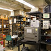 Suter Science Center stock room before the 2014-2016 renovation began.