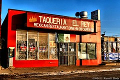 Fiesta (TooLoose-LeTrek) Tags: food store detroit bluesky mexicantown oprange gx7 retailrestaurant