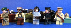 WW2 Tank Drivers (Tomcat Bobcat) Tags: english japanese tank lego fig nazi gear barf german american soviet vodka british russian tanks tankers brickarms figbarf vision:outdoor=0958 vision:sky=0733