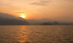 Sunrise on Lake Toba, Sumatra (Larterman) Tags: lake sumatra asian asia seasia southeastasia south east toba berastagi