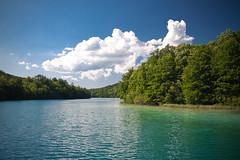 (petr.li) Tags: park trip travel vacation lake holiday tourism nature clouds tour lakes croatia places journey rest leisure traveling plitvice           instatraveling
