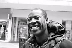 CSC_1080 (ItFactorScott) Tags: city blackandwhite monochrome smile 35mm blackwhite birmingham nikon centre westmidlands cheesey nikond90