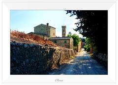 Olena (FI) - accesso (Nardi Francesco) Tags: italy italia fuji tuscany firenze toscana borgo olena barberinovaldelsa sandonatoinpoggio borderfx fujix100