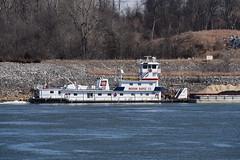 MV Ronald L. Sensenbach-Ingram Barge Co (Porch Dog) Tags: kentucky co barge tennesseeriver towboat 2015 ingrambargeco garywhittington mvronaldlsensenbach